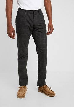 edc by Esprit - WINDOW CHECK - Stoffhose - anthracite