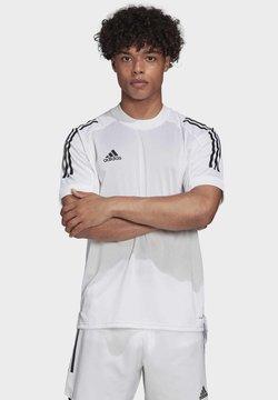adidas Performance - CONDIVO 20 TRAINING JERSEY - T-Shirt print - white