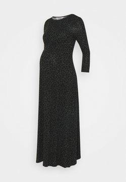 Dorothy Perkins Maternity - HEART SLEEVE EMPIRE SEAM MIDI DRESS - Vestido ligero - black