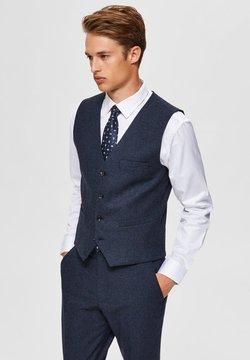 Selected Homme - WESTE SLIM FIT - Gilet elegante - medium blue melange