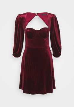 Trendyol - Cocktailkleid/festliches Kleid - burgundy