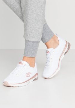Skechers Sport - SKECH AIR - Sneakers laag - white/rosegold