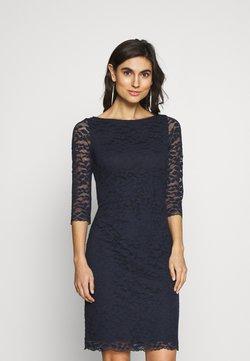 Esprit Collection - LEAVE STRETCH - Vestido de cóctel - navy