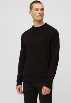 Marc O'Polo - Strickpullover - black