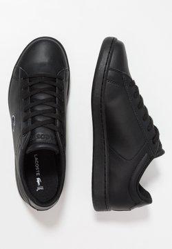 Lacoste - CARNABY EVO - Sneaker low - black
