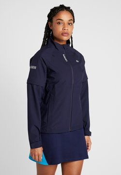 Lacoste Sport - HIGH PERFORMANCE JACKET 2 IN 1 - Blouson - navy blue/white