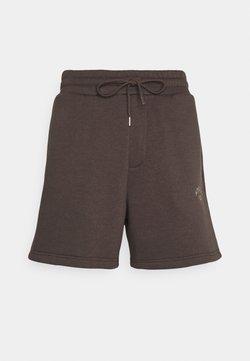 Jack & Jones - JJITOBIAS  UNISEX - Shorts - seal brown