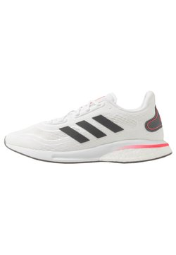 adidas Performance - SUPERNOVA - Zapatillas de running neutras - footwear white/grey five/signal pink