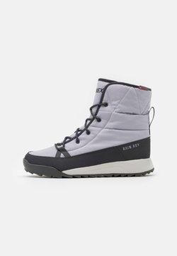 adidas Performance - TERREX CHOLEAH PADDED - Hikingschuh - grey/dough solid grey/purple tint