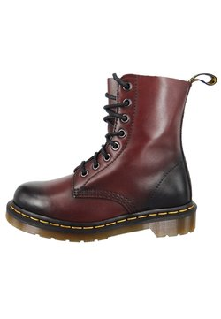 Dr. Martens - PASCAL ANTIQUE TEMPERLEY  - Schnürstiefelette - cherry red