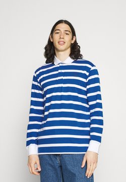 Newport Bay Sailing Club - BOLD STRIPE RUGBY - Poloshirt - light blue