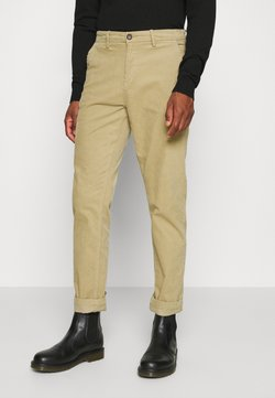 Lindbergh - CORD TROUSERS - Stoffhose - sand