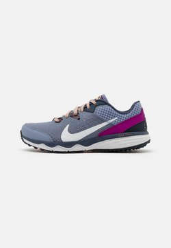 Nike Performance - JUNIPER TRAIL - Zapatillas de trail running - ashen slate/photon dust/thunder blue/red plum/peach cream/dark obsidian