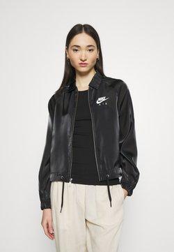 Nike Sportswear - AIR SHEEN - Kevyt takki - black/white