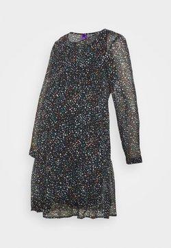 Seraphine - DELFINA TIERED DRESS - Vestido ligero - navy/gold