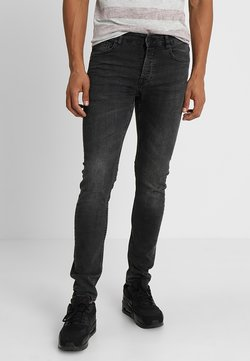 Only & Sons - ONSLOOM BLACK WASHED - Jeans fuselé - black denim