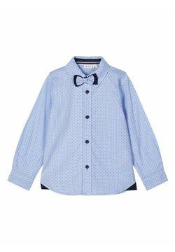 Name it - GEMUSTERTES - Camisa - cashmere blue