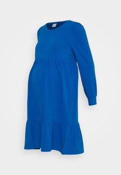 MAMALICIOUS - MLCARLY DRESS  - Jerseykleid - classic blue