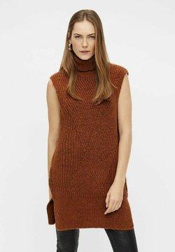 YAS - Vestido de punto - mocha bisque