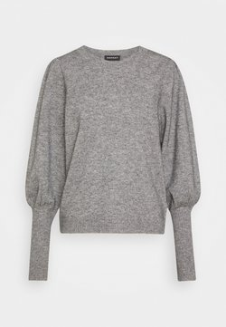 Repeat - Strickpullover - light grey