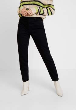 Gina Tricot - DAGNY HIGHWAIST - Relaxed fit -farkut - black