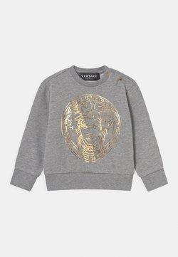 Versace - UNISEX - Sudadera - grigio melange/oro