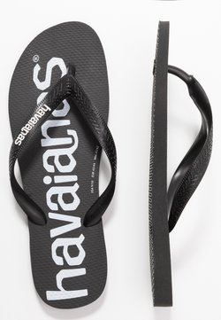 Havaianas - TOP LOGOMANIA UNISEX - Teenslippers - black