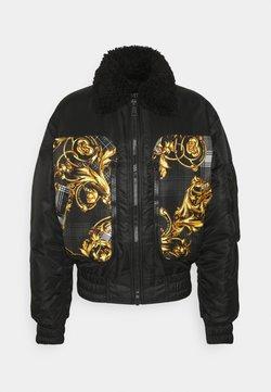 Versace Jeans Couture - DIAGONAL  - Giubbotto Bomber - nero