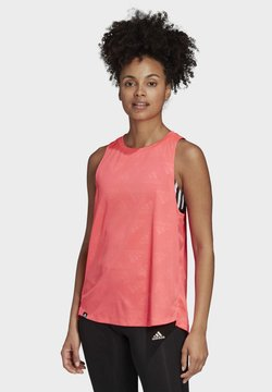 adidas Performance - OWN THE RUN TANK TOP - Top - pink
