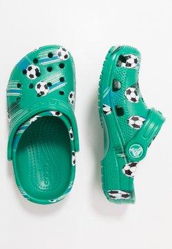 Crocs - CLASSIC SPORT BALL - Badslippers - deep green