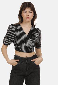 myMo - Bluse - schwarz weiss