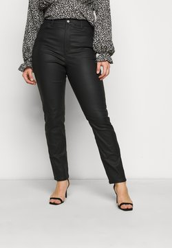 Missguided Plus - STRETCH WRATH STRAIGHT LEG - Pantalon classique - black
