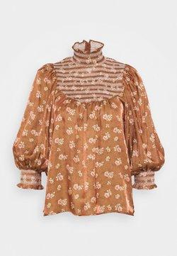 byTiMo - SMOCKING - Bluse - blossom