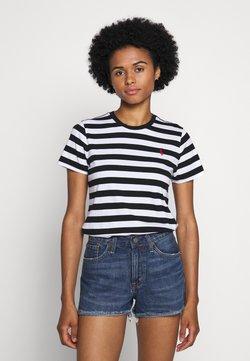 Polo Ralph Lauren - T-shirt imprimé - white/black