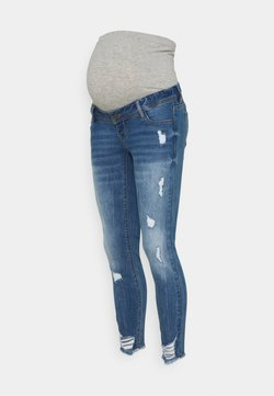 MAMALICIOUS - MLTARAGONA  - Jeans slim fit - medium blue denim
