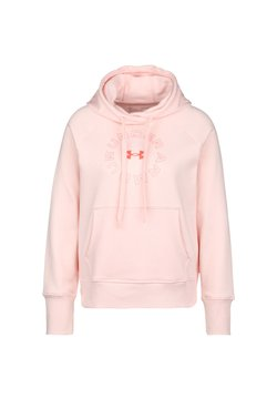 Under Armour - Kapuzenpullover - light pink