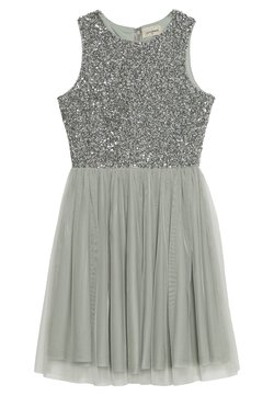 Lace & Beads Petite - PICASSO SKATER - Vestido de cóctel - mint as per madison