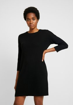 Vero Moda - VMMINNIECARE O NECK DRESS - Strickkleid - black