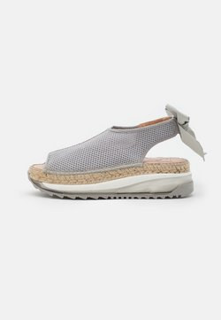 Gaimo - VILLA - Platform sandals - gris