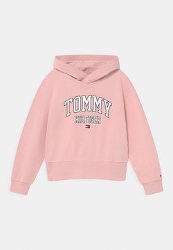Tommy Hilfiger - ESSENTIAL VARSITY HOODIE - Felpa - delicate pink
