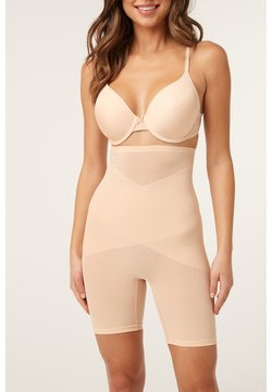 Next - BLACK FIRM CONTROL HIGH WAIST THIGH SMOOTHER - Shapewear - beige