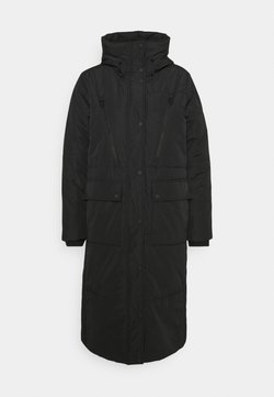 TOM TAILOR DENIM - PADDED LONG COAT - Wintermantel - deep black