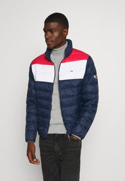 Tommy Jeans - COLORBLOCK LIGHT JACKET - Daunenjacke - twilight navy