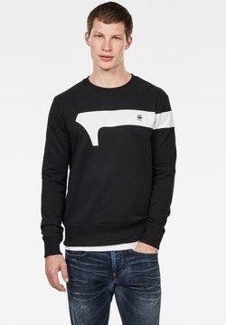 G-Star - GRAPHIC LOGO - Sweatshirt - dark black