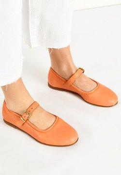 Inuovo - Baleriny z zapięciem - orange org