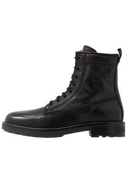 Diesel - D-THROUPER DBB Z - Lace-up ankle boots - black