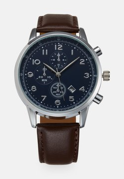 Pier One - Montre - brown/silver-coloured