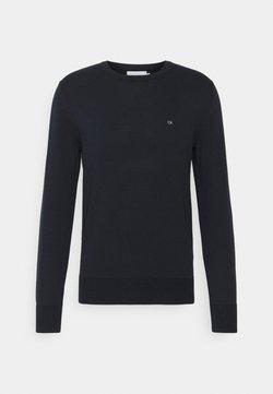Calvin Klein - C NECK SWEATER - Stickad tröja - navy