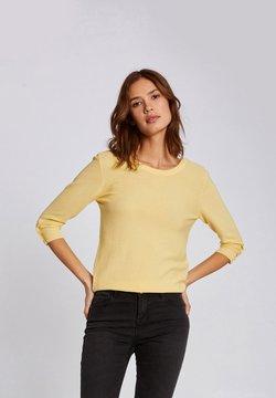 Morgan - Strickpullover - yellow