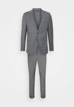 Isaac Dewhirst - CHECK SUIT - Anzug - light grey